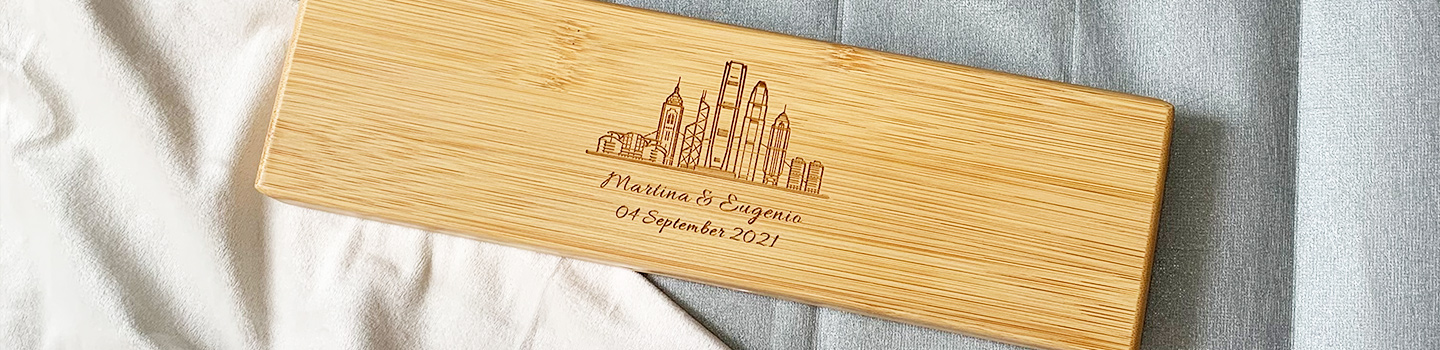 Personalized engrave gift for couples